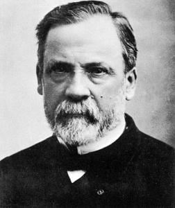 Louis Pasteur phtographié par Nadar.